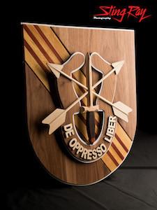 5th SFG Crest on Vietnam Flash Item #: 322047569943