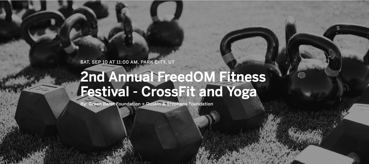 Freedom fitness festival