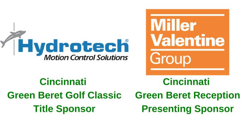 Cincinnati Green Beret Golf ClassicTitle Sponsor