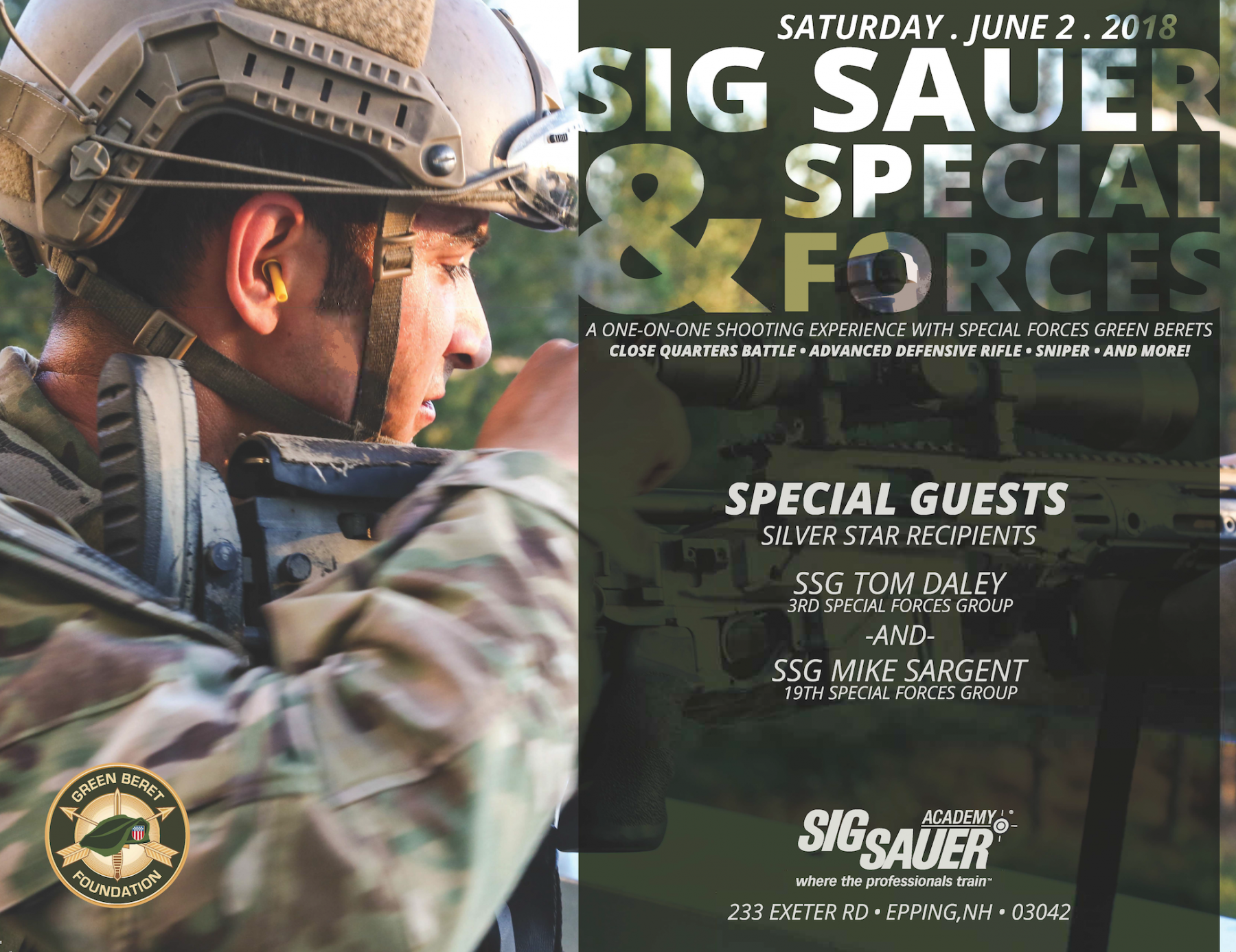 SIG Sauer and Speical Forces small