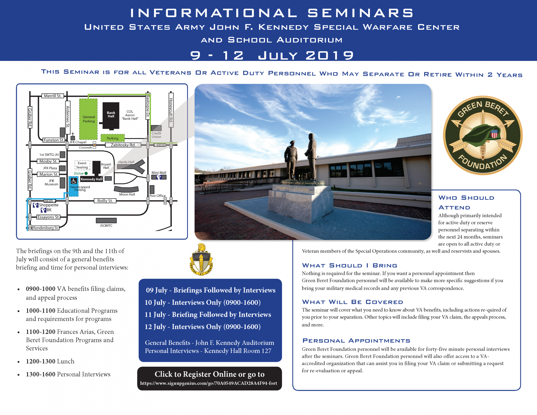 GBF OASIS 2019 Fort Bragg